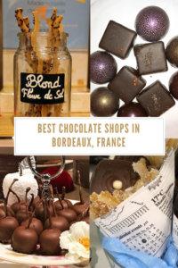 Best Chocolate Shops in Bordeaux, France Pinterest Pin