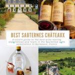 Best Sauternes Chateaux to Visit in the Bordeaux Wine Region Pinterest Pin
