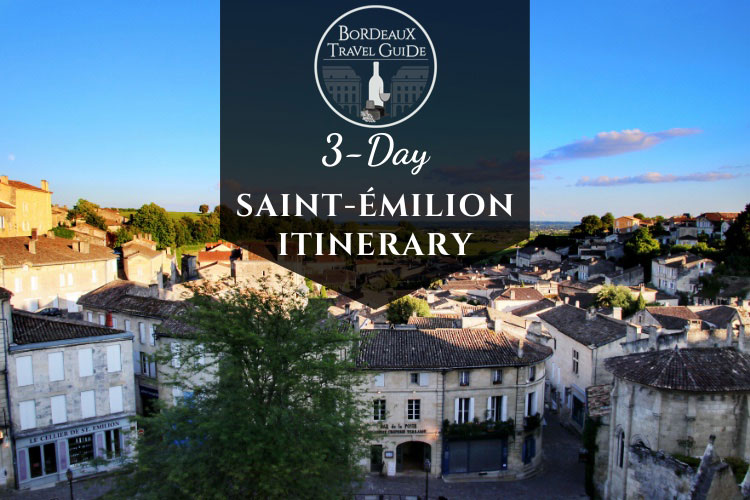 Saint-Emilion Itinerary Button