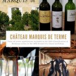 Chateau Marquis de Terme, Margaux, Bordeaux, France Pinterest Pin