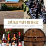 Chateau Vieux Mougnac, Bordeaux, France Pinterest Pin