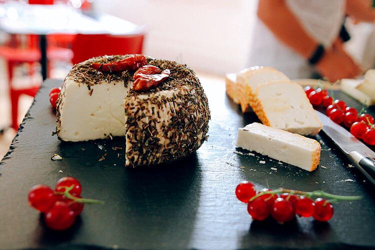 Three kinds of Provençal cheeses