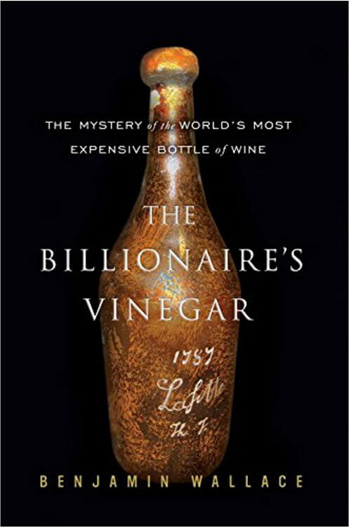 The book cover of The Billionaire's Vinegar