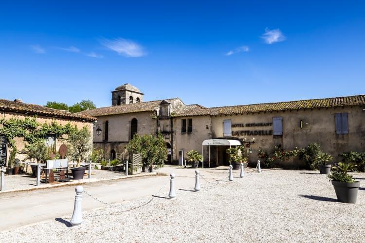 The Hôtel La Citadelle sits inside the Citadel of Blaye on Place d'Armes