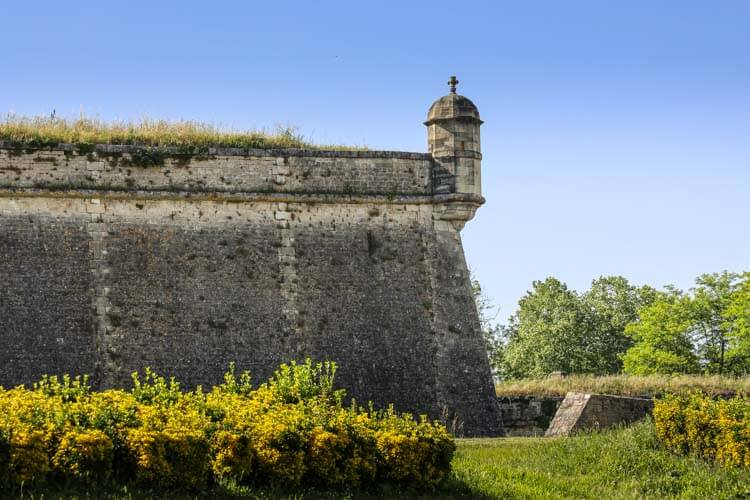 One of the bastions of the Citadelle de Blaye