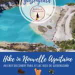 Lac Bleu de Guizengeard, Guizengeard, Charente-Maritime Pinterest Pin