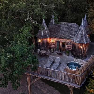 The Dordogne's Tree House Castles You Can Sleep In