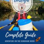 Canoeing the Dordogne Pinterest Pin