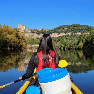 Canoeing the Dordogne