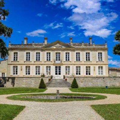 The 18th century castle of Château de la Dauphine